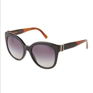 $495 Burberry buckle detail cat eye sunglasses